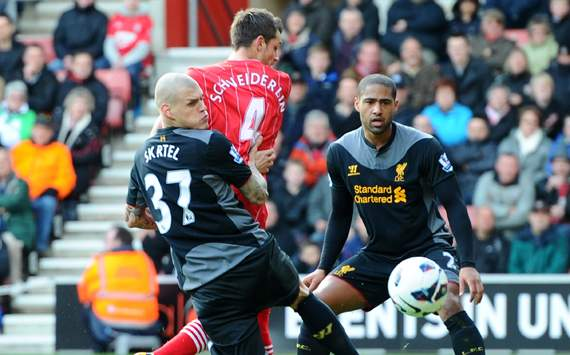 EPL - Southampton vs Liverpool, Morgan Schneiderlin