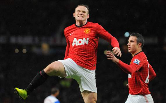 Manchester United in a 'great position' to seal title, says Rooney