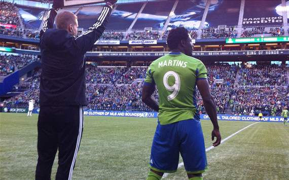 Obafemi Martins, Seattle Sounders FC, MLS