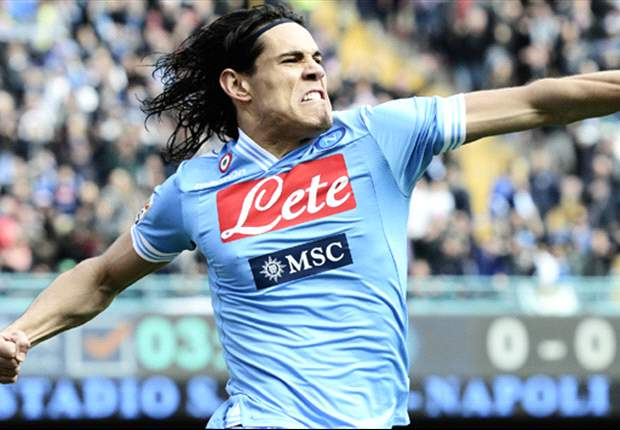 Napoli did not deserve bad run, says Cavani