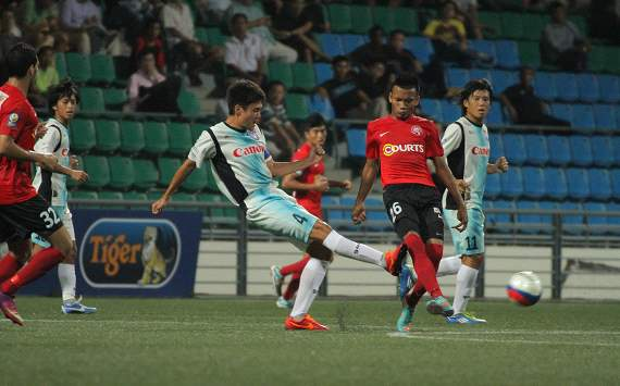 Shuhei Hotta, Young Lions, Albirex, SLeague