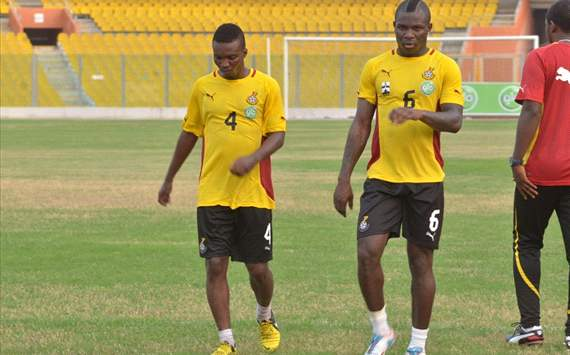 Frimpong out of Ghana's WC qualifiers