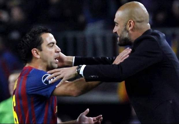 Who's the greatest? Guardiola v Xavi