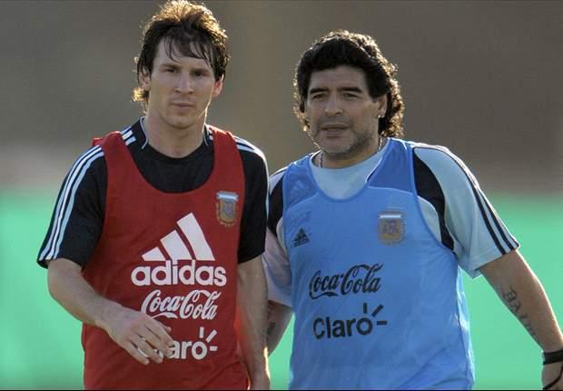 Maradona: I'd love a one-to-one with Balotelli
