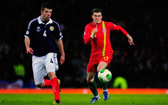 Wales star Bale hopeful of facing Croatia after Scotland injury