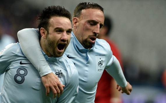 Valbuena expresses happiness at France victory