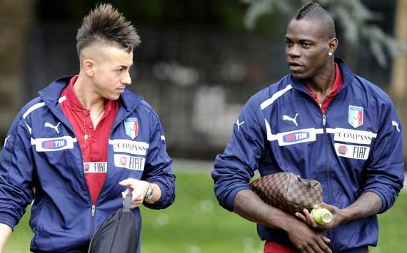 Balotelli & El Shaarawy - Italy