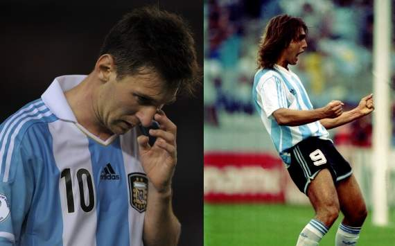 Messi still no match for Batistuta