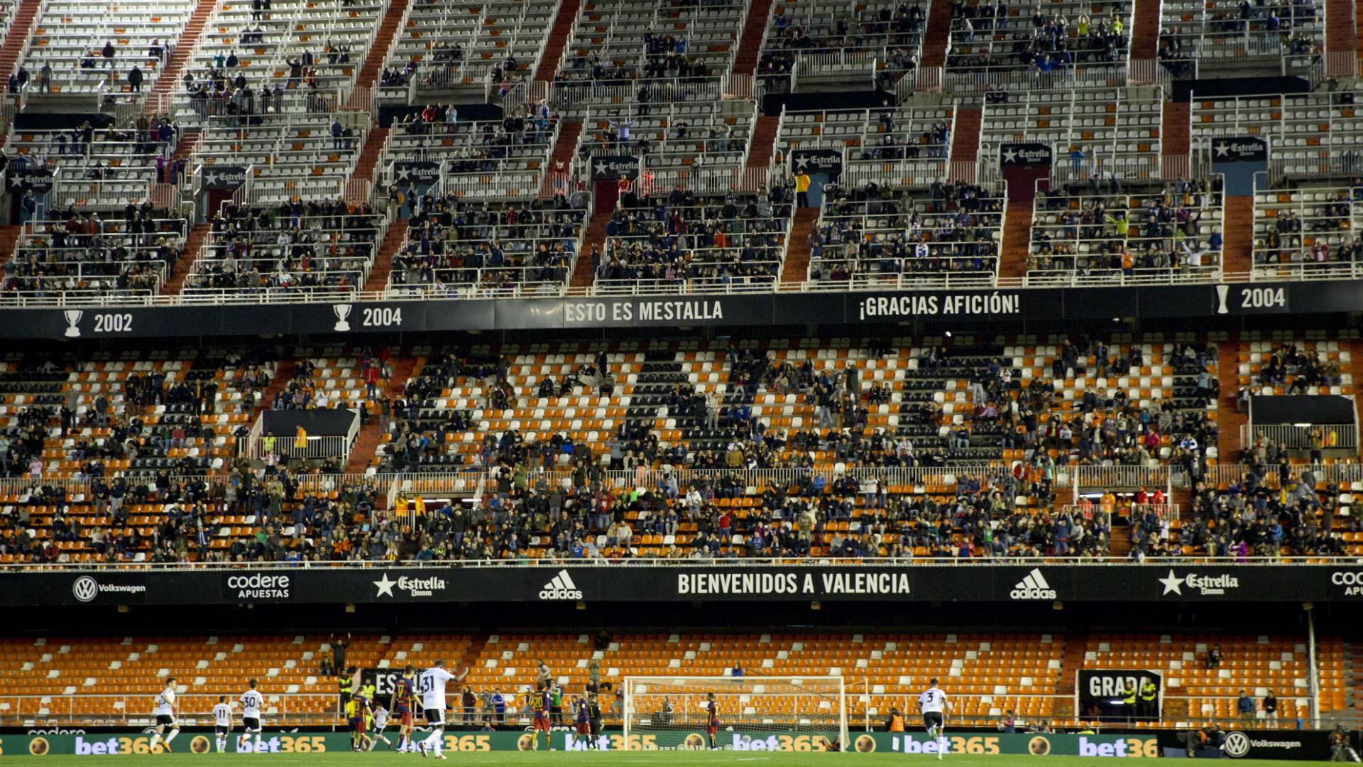 Ультрас Валенсии проигнорировали матч с Барселоной - изображение 1