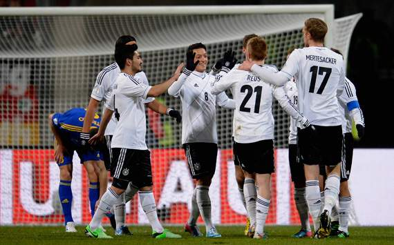 Germany close in on qualification