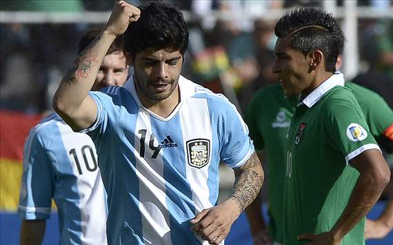 Bolivia denied by Banega leveller