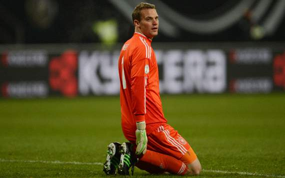 Low: Neuer is one of the best in the world