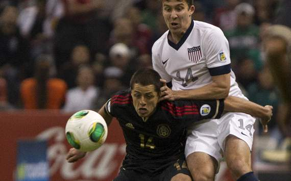 Javier 'Chicharito' Hernandez, Matt Besler - Mexico vs. USA