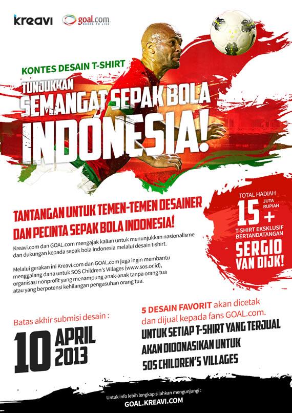 Tunjukkan Semangat Sepakbola Indonesia!