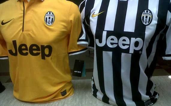 Bocoran Jersey Baru Juventus Home dan Away 2013-2014