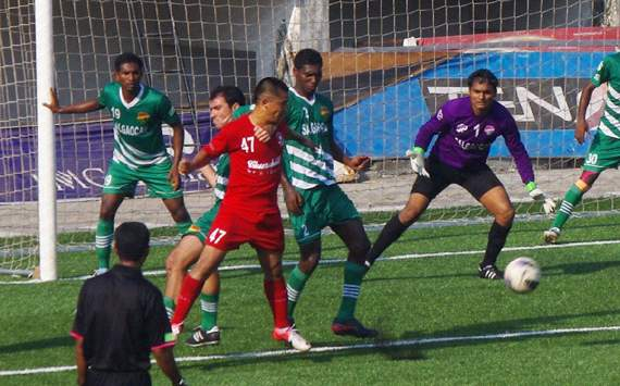 The Red Machines are held by Salgaocar