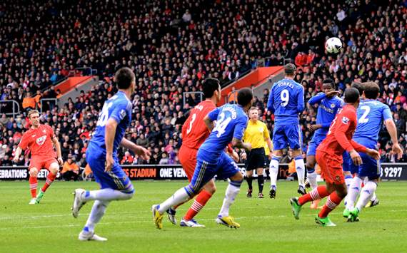 EPL - Southampton v Chelsea, Rickie Lambert