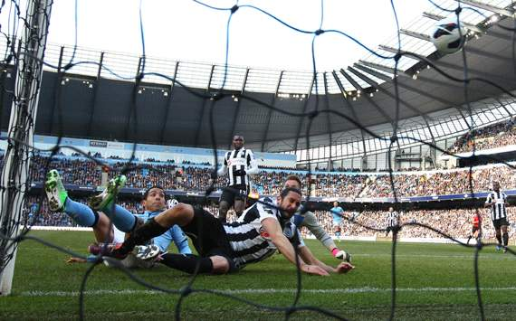 EPL - Manchester City v Newcastle United,  Carlos Tevez