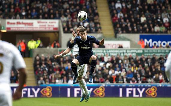 EPL: Gareth Bale, Swansea City vs Tottenham