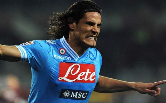 'PSG not interested in Cavani'