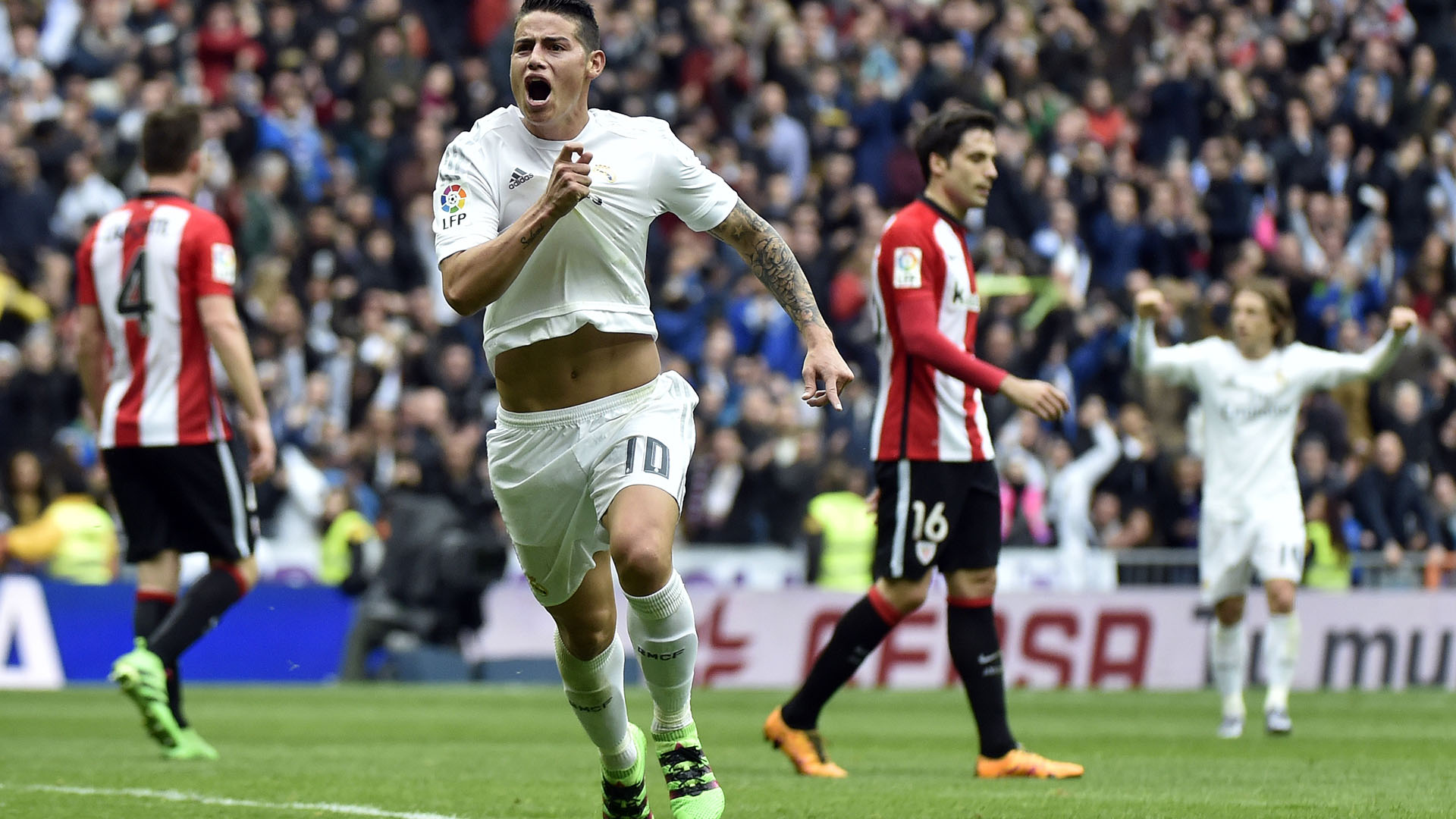 Real Madrid   Athletic Bilbao Ronaldo Brace Helps See Off Gutsy Visitors