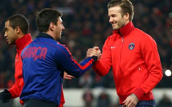 'Everyone's idol' - Football world hails Becks