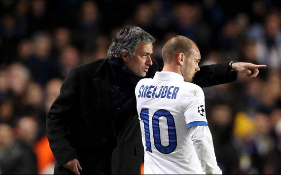 Sneijder open to Mourinho reunion