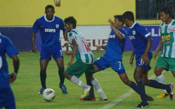 Dempo lose five in a row