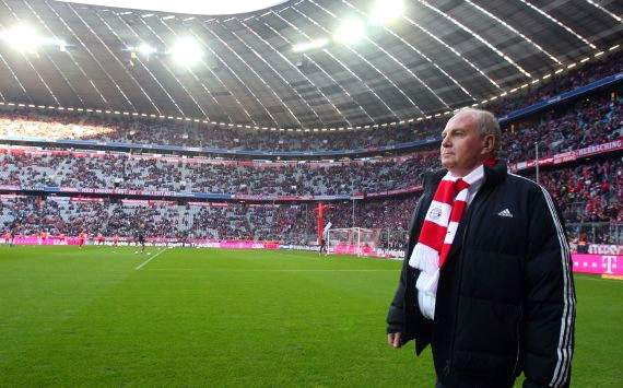 Hoeness to remain Bayern president