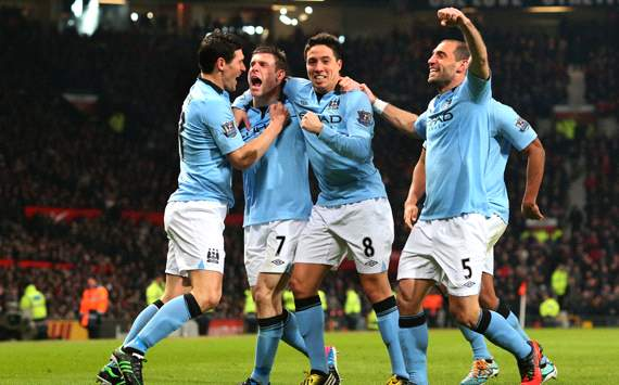 EPL:  James Milner, Manchester United v Manchester City
