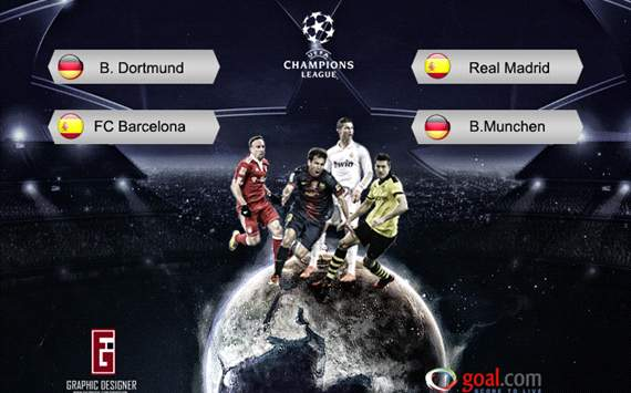 271159hp2 Jadwal Semi Final Liga Champions 2013