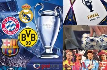 LIVE: Drawing Liga Champions 2012/13