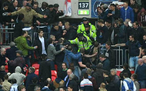 Wembley trouble shames English game