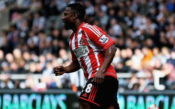 EPL - Newcastle United v Sunderland,  Stephane Sessegnon