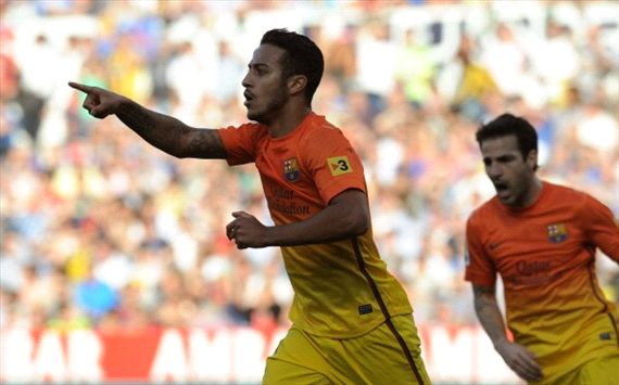 Xavi urges Thiago to remain patient