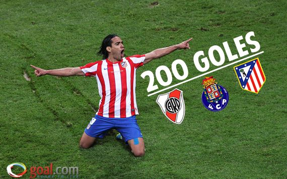 Radamel Falcao del 1 al 200