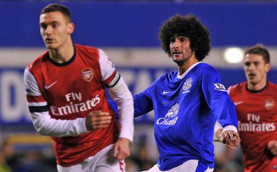 Fellaini bid underlines Arsenal intent