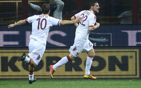 Roma v Lazio in Coppa final