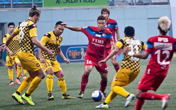 Park Kang Jin will lead the Balestier midfield against DPMM