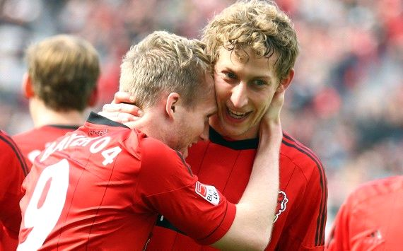 Germany: Bayer Leverkusen - TSG 1899 Andre Schurrle, Stefan Kiessling