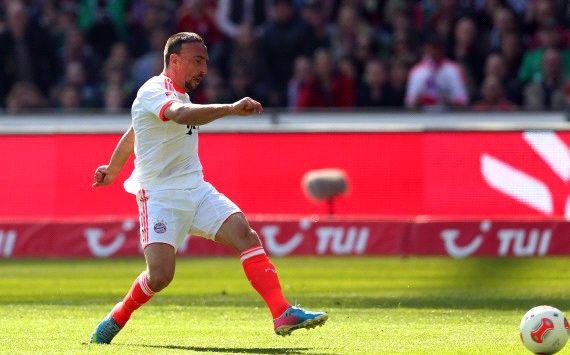 Germany: Hannover 96 - Bayern Munich, Franck Ribery