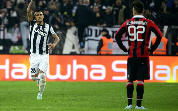 Vidal edges Juventus ever closer to title