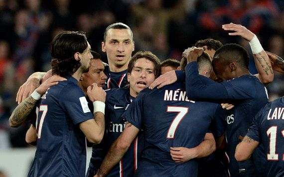 Menez fires PSG to Ligue 1 triumph