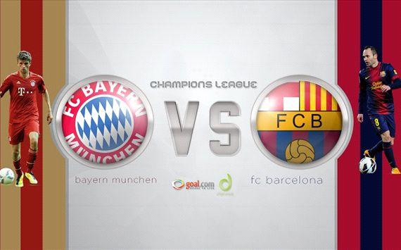 Bayern munich vs Barcelona