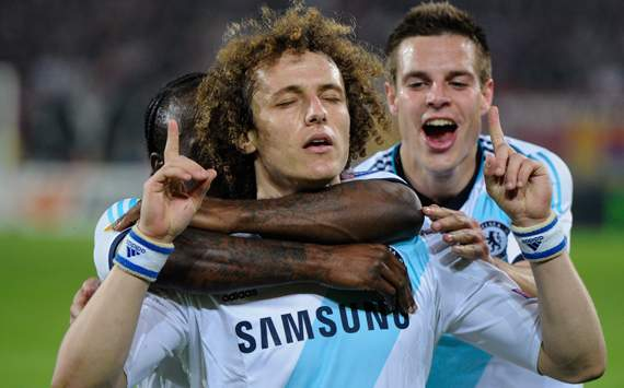 Europa League - Basel vs Chelsea, David Luiz