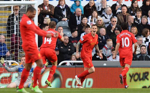 Liverpool hammer woeful Newcastle