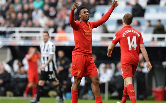 EPL - Newcastle United v Liverpool, Daniel Sturridge