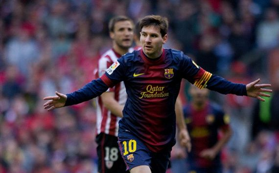 Messi's 21 in a row: Leo's world-record run