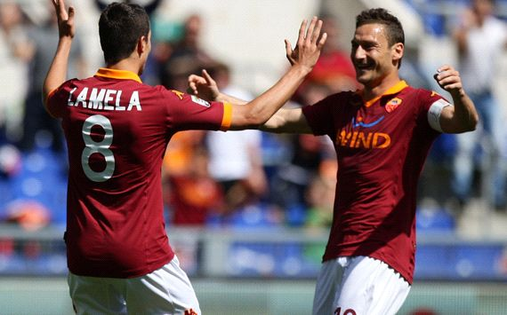 FT: Roma 4-0 Siena