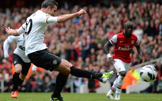 EPL - Arsenal v Manchester United, Robin van Persie